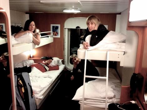 Jim Ruiz Set + The Starfolk, overnight ferry to Amsterdam