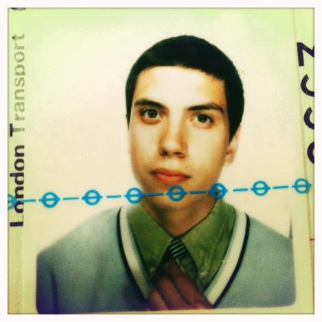 The Young Mr. Ruiz: Jim's old London Transport photo
