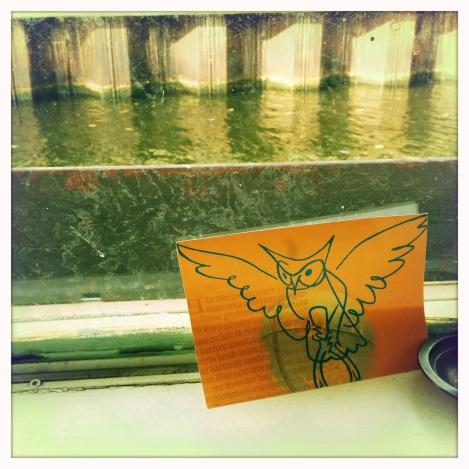 houseboat windowsill